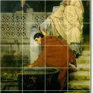 Alma-Tadema Men Women Dining Mural Tiles Room Commercial Decor