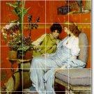 Alma-Tadema Women Kitchen Backsplash Tiles Mural Home Remodel Art
