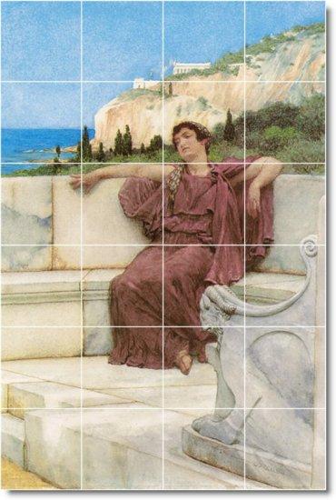 Alma-Tadema Historical Wall Mural Room Tiles Modern Design Home