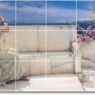Alma-Tadema Women Kitchen Tiles Backsplash Mural Remodel Art Home