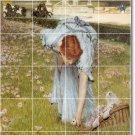 Alma-Tadema Women Kitchen Tiles Mural Backsplash Art Home Remodel