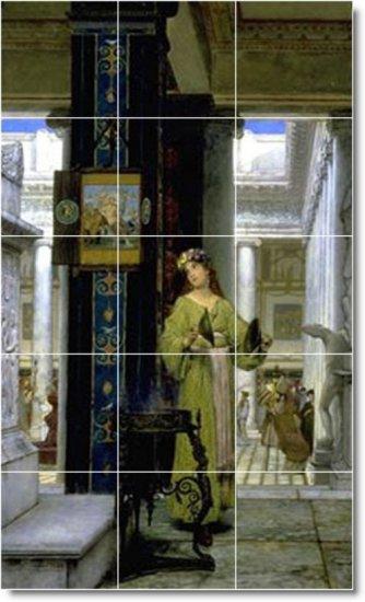 Alma-Tadema Women Room Dining Wall Murals Commercial Construction