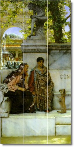 Alma-Tadema Historical Backsplash Tile Wall Murals Design House