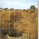 Alma-Tadema Landscapes Dining Tile Wall Room Mural Home Remodel
