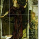 Alma-Tadema Men Women Living Mural Tile Room Design Decor Home