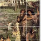 Alma-Tadema Landscapes Dining Tile Wall Mural Room Remodel Home