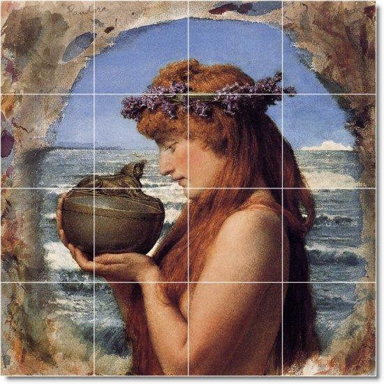 Alma-Tadema Mythology Living Tile Mural Room Decor Design Home