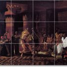 Alma-Tadema Historical Tile Dining Wall Room Mural Construction