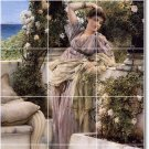 Alma-Tadema Women Living Room Mural Tiles Wall Decor House Design
