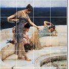Alma-Tadema Women Living Room Tiles Wall Mural Decor Design House