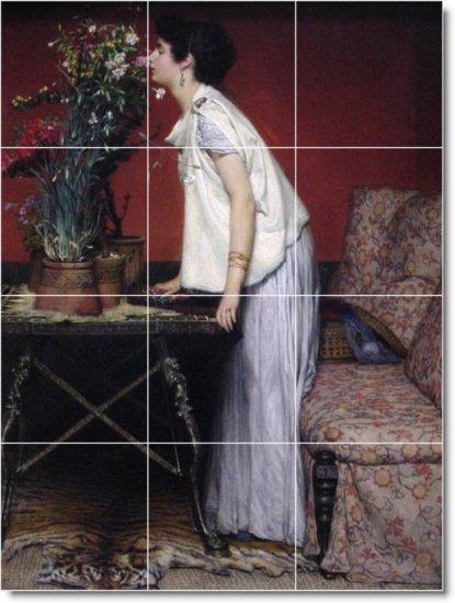 Alma-Tadema Women Living Wall Tiles Mural Room Home Remodel Decor