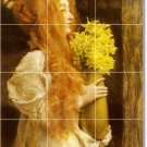 Alma-Tadema Women Living Mural Room Wall Tiles Home Decor Remodel