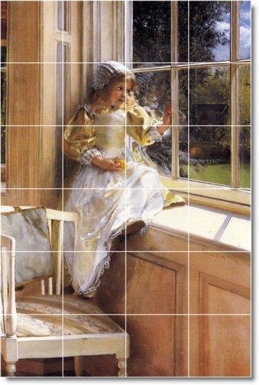 Alma-Tadema Historical Bedroom Wall Tile Murals Design Renovate
