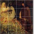 Alma-Tadema Historical Tile Mural Kitchen Backsplash Home Decor