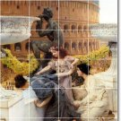 Alma-Tadema Historical Mural Room Floor Remodeling Contemporary