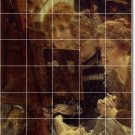 Alma-Tadema People Mural Wall Kitchen Remodel Ideas Commercial