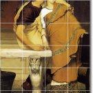 Alma-Tadema Men Women Bathroom Tile Mural Remodel Floor Modern