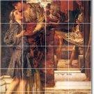 Alma-Tadema Men Women Tiles Room Dining Floor Remodeling Ideas