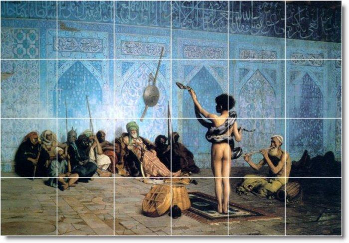 Alma-Tadema Historical Bedroom Murals Renovations Idea Interior