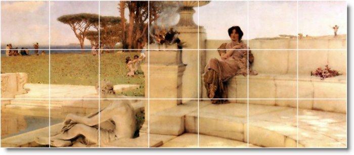 Alma-Tadema Historical Wall Shower Murals Wall Decor Decor Home