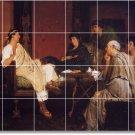 Alma-Tadema Historical Wall Room Tile Dining Murals House Decor