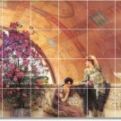 Alma-Tadema Women Room Murals Living Wall Wall Floor Design Decor