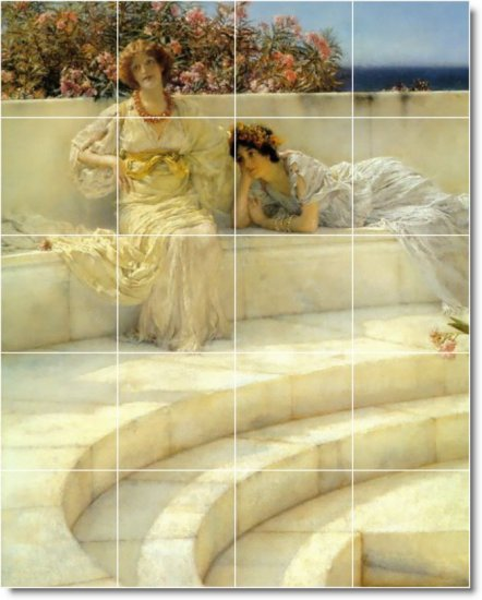 Alma-Tadema Women Room Murals Wall Living Wall Design Floor Decor
