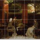 Alma-Tadema Historical Wall Room Tile Murals Dining Decor House
