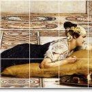 Alma-Tadema Animals Murals Shower Wall Tile Renovations Design