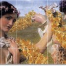Alma-Tadema Women Room Murals Wall Wall Living Decor Design Floor