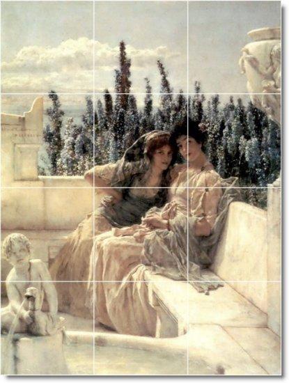 Alma-Tadema Women Wall Living Room Murals Wall Residential Design
