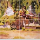 Anschutz Country Kitchen Floor Mural Home Decorate Construction