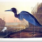 Audubon Birds Tiles Wall Room Renovations Idea Commercial Design