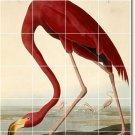 Audubon Birds Backsplash Tiles Renovations Contemporary Interior