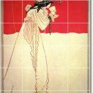 Beardsley Illustration Tiles Mural Room Wall Mural Floor Decor