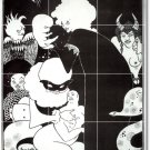 Beardsley Illustration Tiles Mural Room Mural Wall Decor Floor