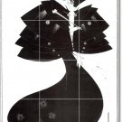 Beardsley Illustration Mural Bedroom Floor Tiles Modern Design
