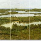 Bierstadt Country Shower Wall Tile Murals Modern Remodeling House
