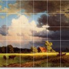 Bierstadt Country Bedroom Tiles Mural Wall Mural Decor Home Decor