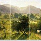 Bierstadt Landscapes Kitchen Mural Tile Renovate Interior Decor