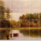 Bierstadt Landscapes Tile Kitchen Mural Renovate Decor Interior