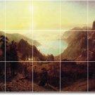 Bierstadt Landscapes Mural Kitchen Tile Decor Renovate Interior