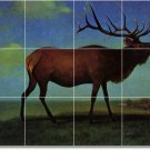 Bierstadt Animals Tiles Mural Floor Bedroom Design Decor Interior