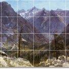 Bierstadt Landscapes Wall Mural Backsplash Modern Floor Remodel