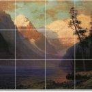Bierstadt Landscapes Mural Backsplash Wall Modern Remodel Floor