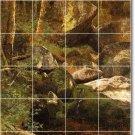 Bierstadt Landscapes Wall Kitchen Tile Backsplash Floor Remodel