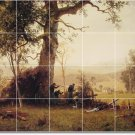 Bierstadt Country Mural Tile Room Wall Dining Home Modern Remodel
