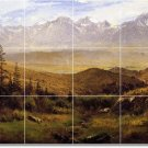 Bierstadt Landscapes Wall Tile Bathroom Renovations House Ideas