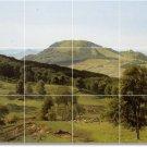 Bierstadt Landscapes Tile Murals Room Dining House Design Decor