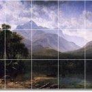 Bierstadt Landscapes Tiles Shower Bathroom Renovate Modern Home